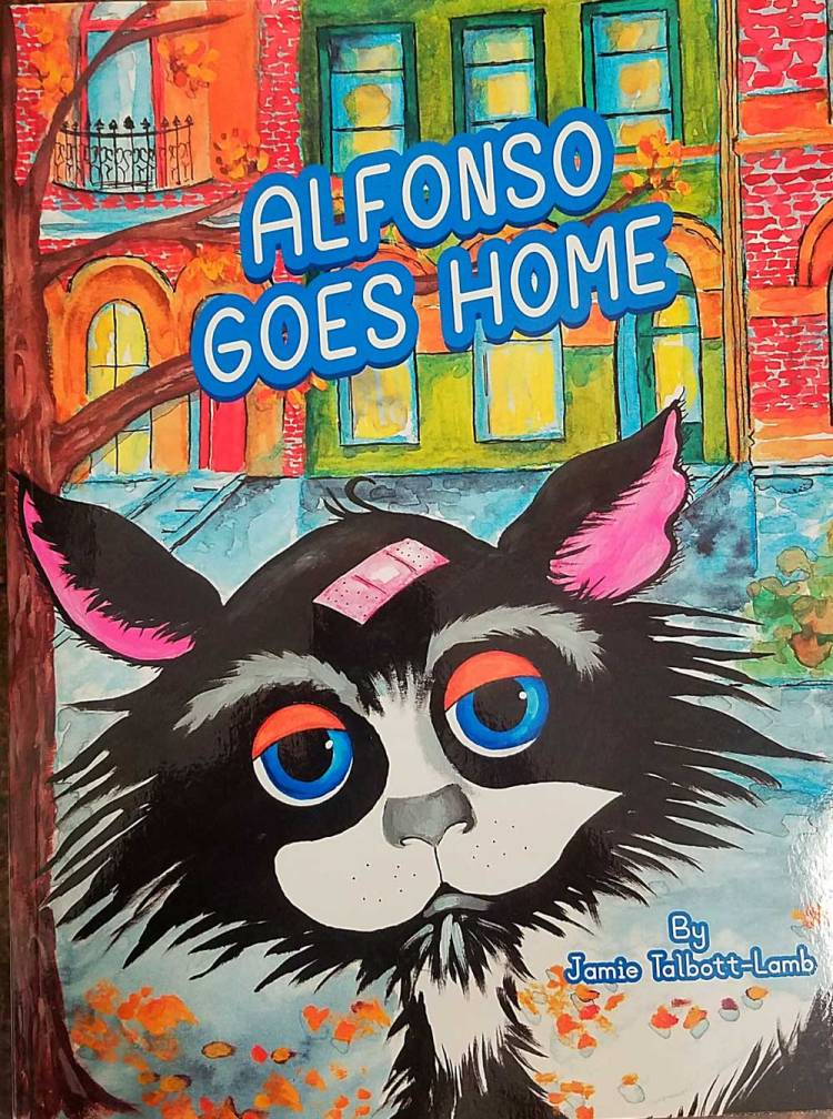 alfonso goes home book cover